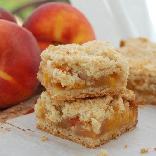 Coconut sugar, Bar and Peach crumble bars on Pinterest