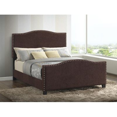 Found it at Wayfair - Sona Upholstered Panel Bed