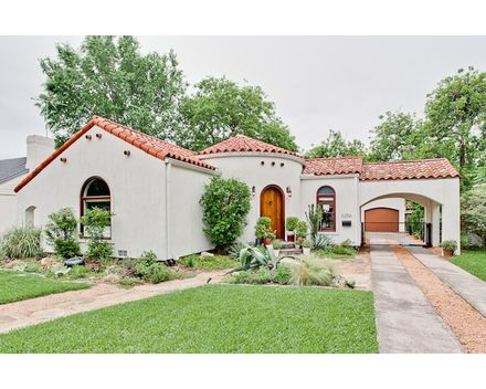Lakewood Tx Home 1938 Spanish Revival Bungalow In Dallas