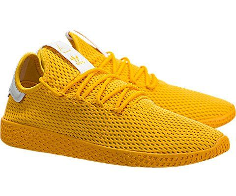 Adidas Mens Pharrell Williams Tennis Hu Athletic Shoe Mens 12 Yellow Monochrome 6433 Color Adidas Shoes Outlet Dress Shoes Men Adidas Men