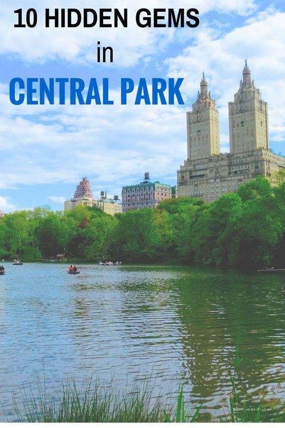 10 hidden gems in central park new york city world for Fishing in new york city