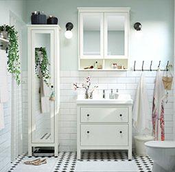 Badezimmer Dekorieren Ikea Ikea Badmobel Badgestaltung Badezimmer