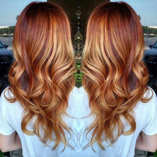 ... hair fall colors on tuesday in california red hair hair color amber
