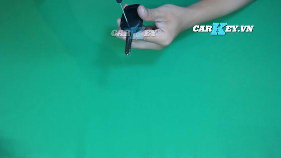 Thay vỏ chìa khóa ô tô Chevrolet Captiva - Carkey.vn