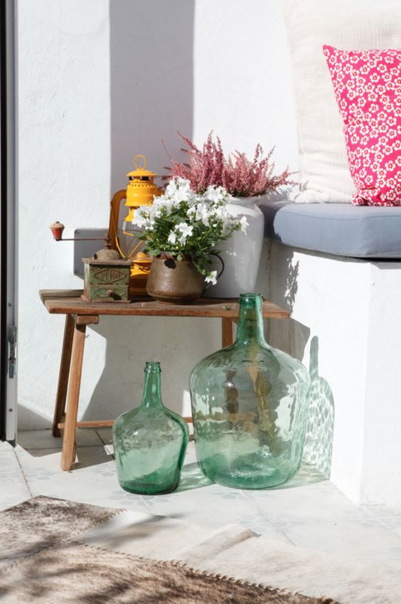 Decoraci n terrazas ticos bonitas y alegres decoraci n - Cosas de decoracion baratas ...