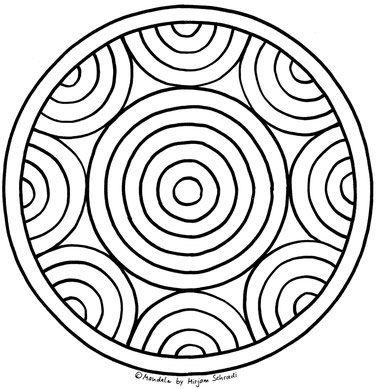 Mandalas Fur Kinder Mandalas Zum Ausdrucken Und Ausmalen Fur Grundschulkinder Ausmalbilder Malvorlage Kreise 8 Mandalas Zum Ausdrucken Mandalas Kinder Ausmalen