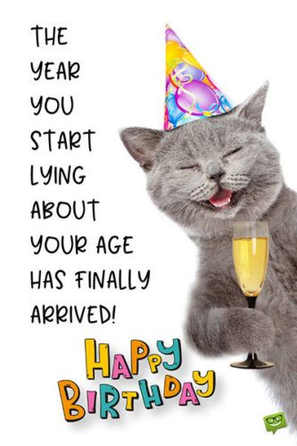 Funny Happy Birthday Images (With images) | Funny happy birthday ...
