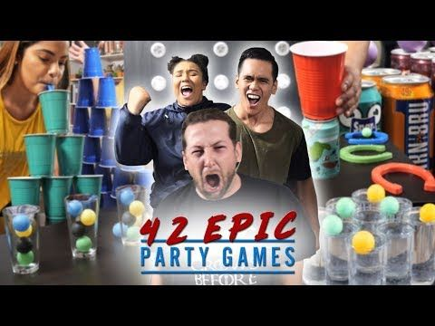 42 Epic Party Games Fun For Any Party Youtube Fun Party Games Family Party Games Kids Party Games
