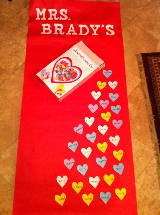 Classroom Decoration For Valentines ~ Classroom door and valentines on pinterest