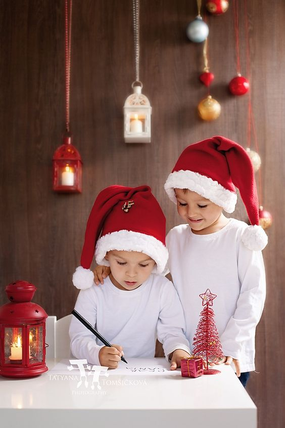 Two adorable boys, writing letter to Santa by Tatyana Tomsickova on 500px