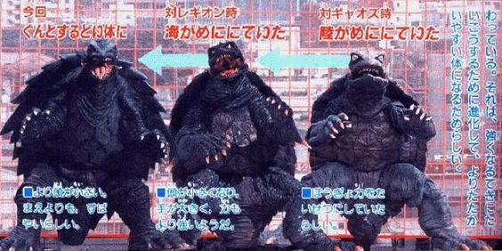 The Godzilla knockoff was originally a prehistoric monster that wreaked havoc on Japan but Gamera's origin was eventually retconned to make him a good guy similar to Mothra. Description from l7world.com. I searched for this on bing.com/images