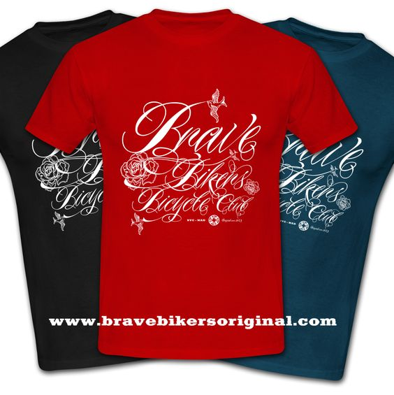 Nueva camiseta inspiración tatuaje / New shirt inspired tattooOnly in http://www.bravebikersoriginal.com/ #bravebikers #bbbc #bike #tattoo