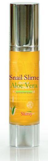 Slimy Con Aloe Vera: Regenera, hidrata y nutre la piel, eliminando visiblemente las arrugas y las cicatrices.