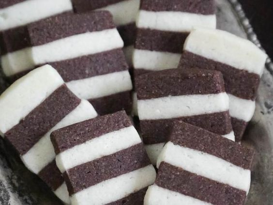 Chocolate-Vanilla Striped Christmas Cookies>>  http://www.hgtv.com/entertaining/chocolate-vanilla-striped-christmas-cookies-recipe/index.html?soc=pinterest