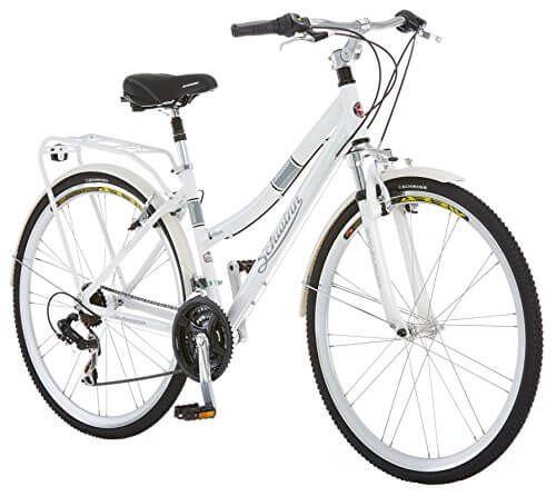 Schwinn Discover Hybrid Bicycle 700c 28 Inch Wheel Size Women S Size Hybrid Bicycle Hybrid Bike Comfort Bike