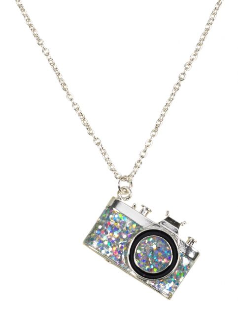 Glitter Camera Necklace | Girls Jewelry Accessories | Shop Justice