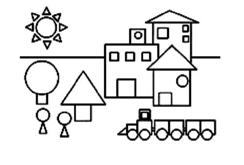 100 Figuras Geometricas Infantiles En Dibujos Para Ninos Formas Geometricas