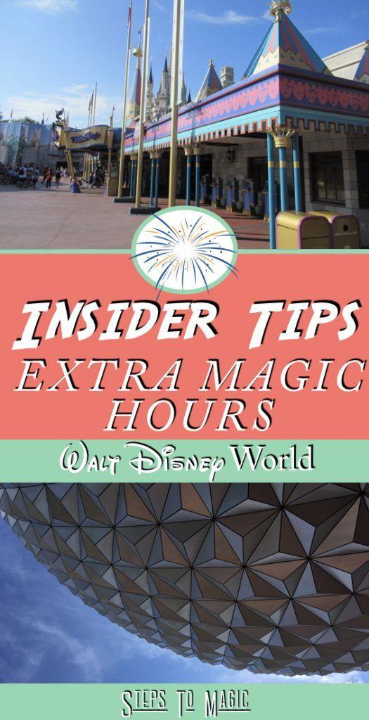 Extra Magic Hours At Walt Disney World