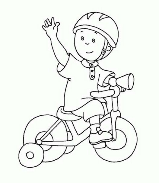 Child Riding Bike Coloring Pages Coloring Pages Amp Book For Kids