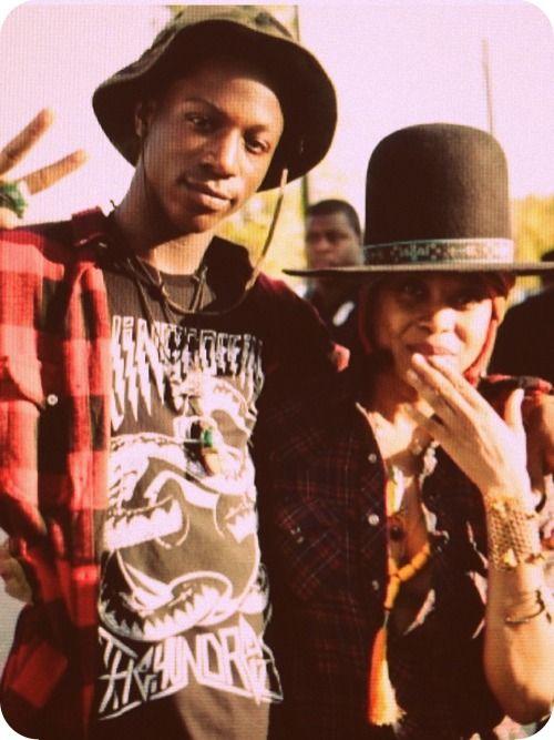 Joey B4.DA.$$ and Erykah Badu