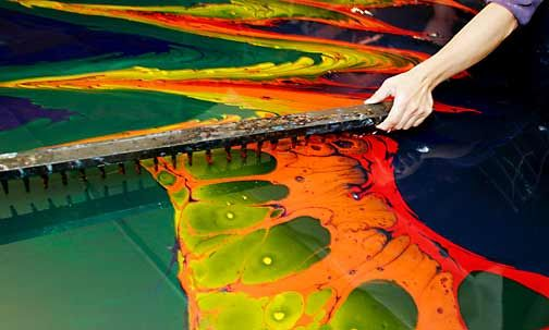 Fabric by the Yard - Designer Upholstery Fabrics - Marbling