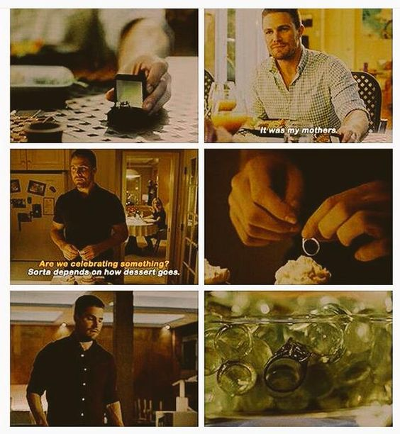 Arrow - Oliver Queen & The Engagement Ring #Olicity <3