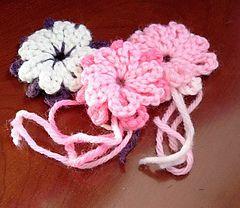 Crocheted morning glories pattern free with ralvery membership