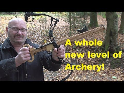 YouTuber Jörg Sprave has invented an extraordinary archery contraption that  you need to see to believe. | Archery, Inventions, Bows