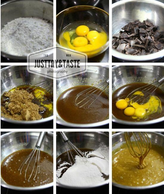 Resep Wafer Blondie Dengan Chocochips Resep Brownies Coklat