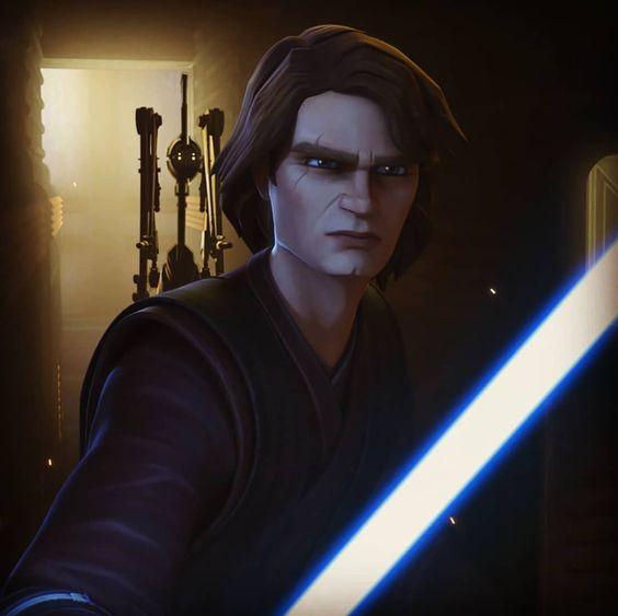 """Star_Wars on Instagram: """"Clone Wars:season 7 Anakin Skywalker . . . . . . #clonewars #starwars #disneyplus #disneyworld #anakinskywalker #season7 #disney #lightside"""""""