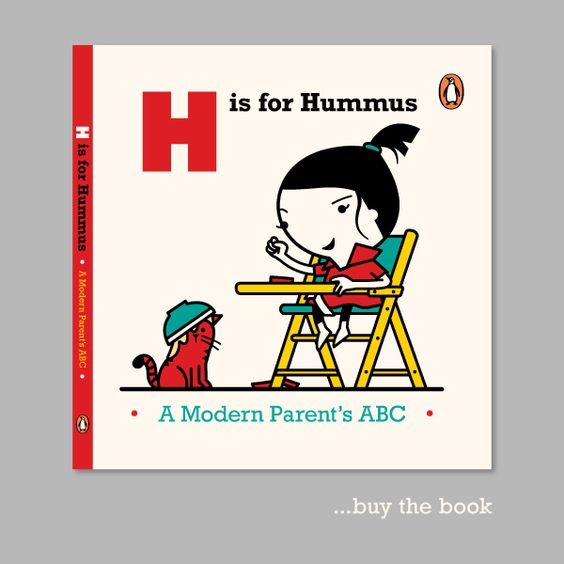 Alphabet book for parents. Cute!