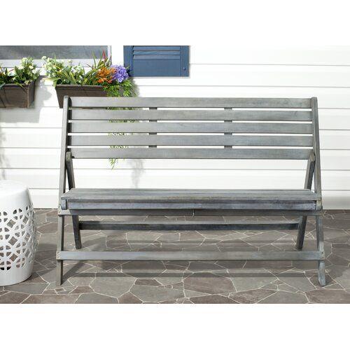 Sol 72 Outdoor Fairlight Wooden Bench Wooden Garden Benches