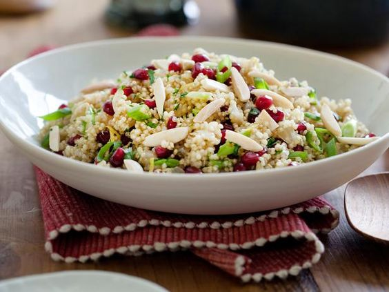 Add some color to the table with @Kelsey Nixon's Pomegranate Quinoa Pilaf.