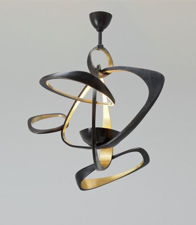 Love the sculptural form of this Herve Van der Straeten Pendant