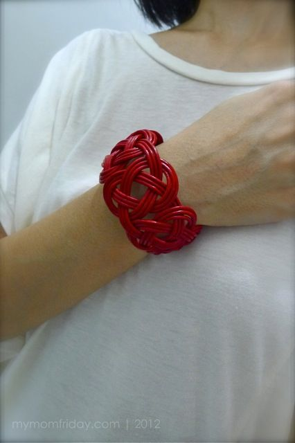 braided leather cuff -Mom-Finds: A Few of My (current) Favorite Things
