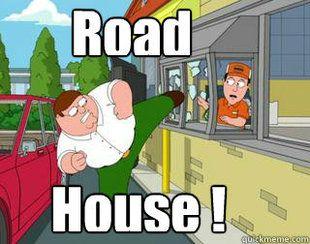 family guy memes | family guy road house ! meme | quickmeme