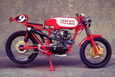 Nice little Ducati cafe racer