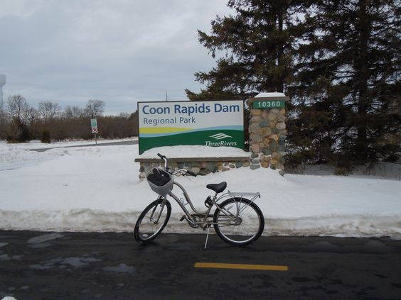 Winter visit to the Coon Rapids Dam