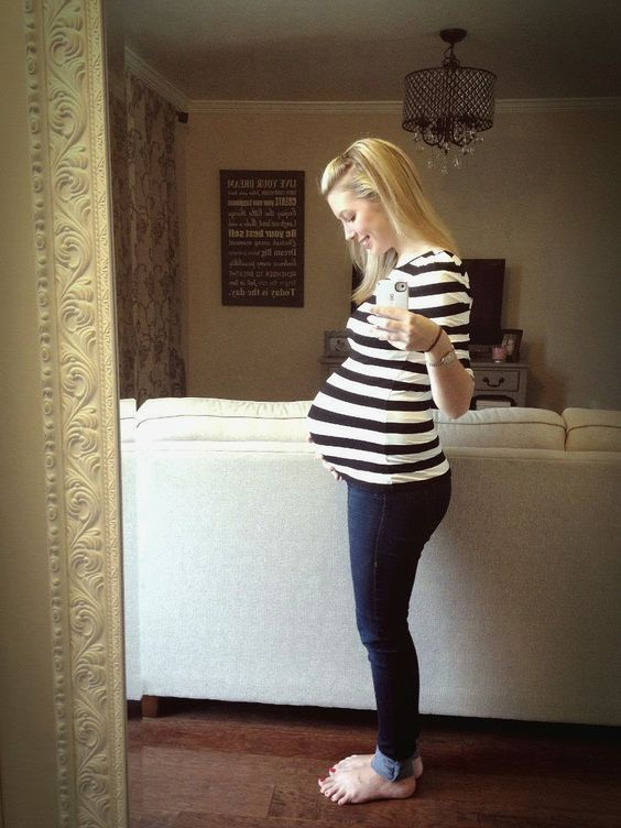 Only 30 Week pregnant belly must