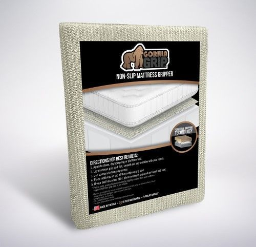 The Original Gorilla Grip Non Slip Area Rug Pad Mattress Gripper Made In Usa Area Rug Pad Rug Pad Sisal Area Rugs