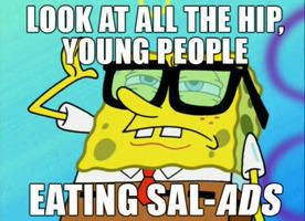 Image result for spongebob salad