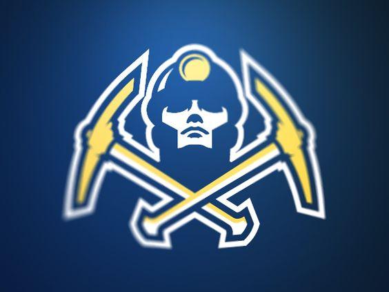 Denver Miners Logo Proposal Logo Design Logo
