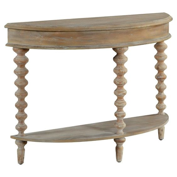 Demilume Console - Natural - Christopher Knight Home