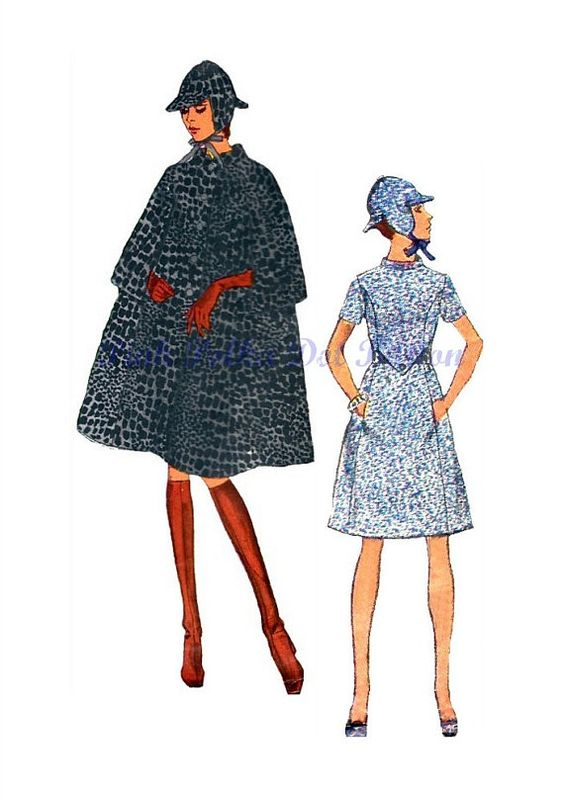 Vintage 1960s Vogue Couturier Design 2402 by pinkpolkadotbutton, $24.00