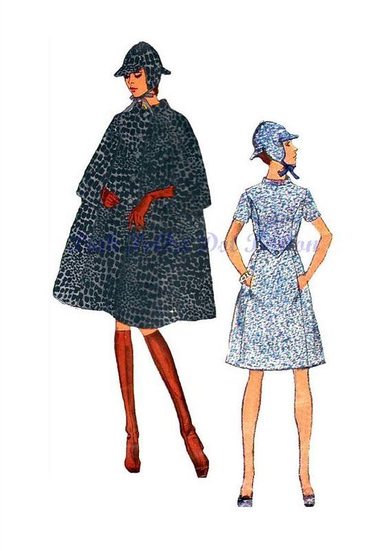 Vintage 1960s Vogue Couturier Design 2402 by pinkpolkadotbutton, $24.00