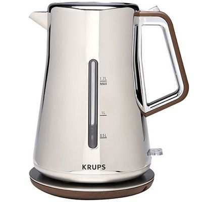 Silver Art Electric Kettle Beautiful, New kitchen and Coffee maker