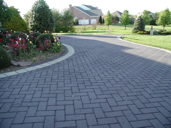 Beautiful Landscaping And Decorative Stamped Asphalt Driveways Go  Hand In Hand