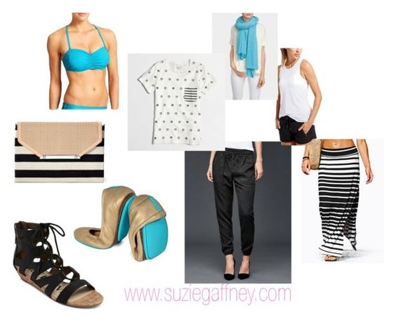 Spring Break - Other options by sgaffney on Polyvore featuring J.Crew, Gap, Tieks and Stella & Dot: