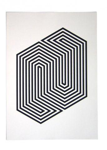 Pinterest the world s catalog of ideas for Geometric illusion art