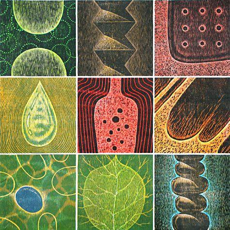 Hiroki Morinoue. Earth Cycle, 2007. Woodcut. AP 6. 36 x 36 in. unframed, 41 x 41 in. framed.: Drawings Prints Paintings, Artists Printmaking, Artists Printing, Woodblock Prints, Printmaking Representational, Printmaking Resources, Printmaker S Artwork